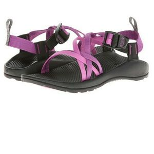 Purple chacos size 8